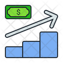 Profit Growth Money Icon