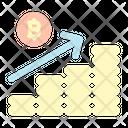 Profit Coin Graph Icon