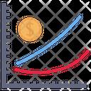 Profit Analytics Graph Icon