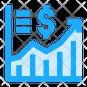 Profit Chart Report Icon