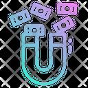 Profit Magnet Business Icon