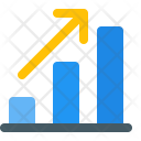 Profit Bar Infographic Icon