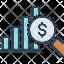 Profit Analysis Investor Data Icon