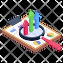 Data Analytics Statistics Finance Analysis Icon