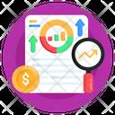 Seo Analysis Financial Analysis Business Analysis Icon
