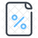 Profit Ratio File Icon