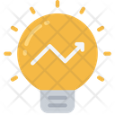 Profit Ideas Light Bulb Thinking Icon