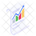 Economic Growth Growth Chart Sales Growth Icon