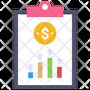 Profit Report Business Graph Icon