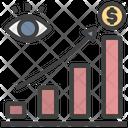 Profit View Growth Bar Graph Icon