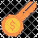 Key Success Strategy Icon
