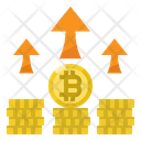 Profits Bitcoin Investment Icon
