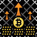 Profits Bitcoin Investment Icon