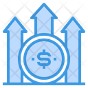 Money Stats Coins Icon
