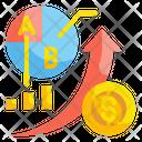 Investing Graph Money Icon