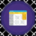 Program Interface Interface Coding Icon