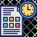 Program Management Project Deadline Project Management Icon