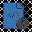 Programing Invoice Programming File Coding File Icon