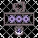 Programmatic Non Reserved Programmatic Gears Icon