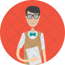 Programmer Character Profession Icon