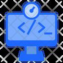 Programmer Code Coding Icon