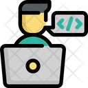 Programmer Programming Coding Icon