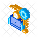 Business Computer Man Icon