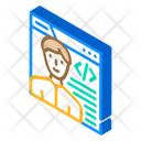 Programmer Worker Male Icon