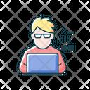 Programmer Computer Expert Icon