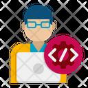 Binary Programmer Programmer Developer Icon