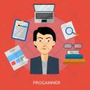 Programmer Human Profession Icon