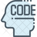 Code Process Mind Icon