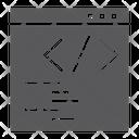 Programming Website Development Icon