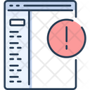 Programming Error Coding Error Icon