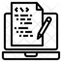 Code Computer Data Icon
