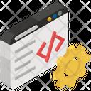 Web Development Programming Html Coding Icon