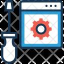Programming Screwdriver Development Icon
