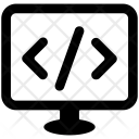 Programming Computer Html Icon