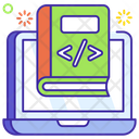 Programming Book Coding Book Software Booklet Icon