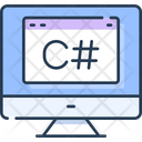 Programming C C Coding C Language Icon