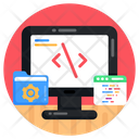 Web Coding Software Development Web Programming Icon