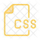 Document Css Files Icon