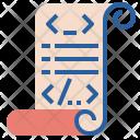 Script Programming Html Icon