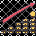 Progress Development Coin Icon