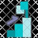 Progress Bar Chart Flag Icon