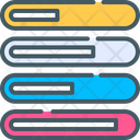 Bar Infographic Progress Icon