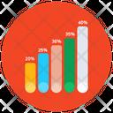 Progress Bar Chart Statistics Infographic Icon