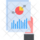 Report Analysis Pie Graph Icon