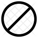 Prohibit Forbidden Ban Icon