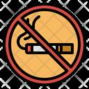 Prohibit No Smoke Icon